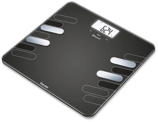 Фото - Весы напольные Beurer BF600 чёрный весы напольные beurer bf410 чёрный