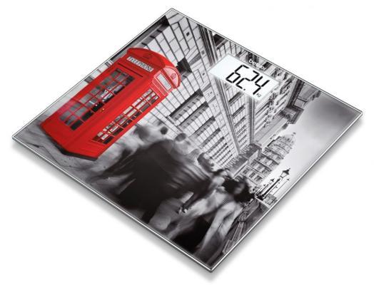 Картинка для Весы напольные Beurer GS203 London рисунок