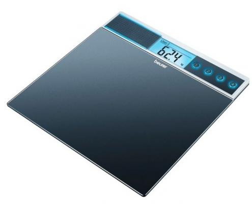 Фото - Весы напольные Beurer GS39 чёрный весы напольные beurer bf410 чёрный