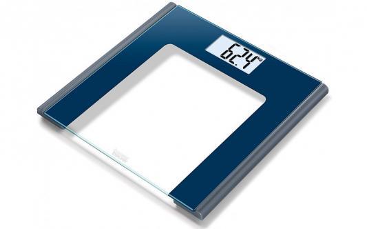 лучшая цена Весы напольные Beurer GS170 синий