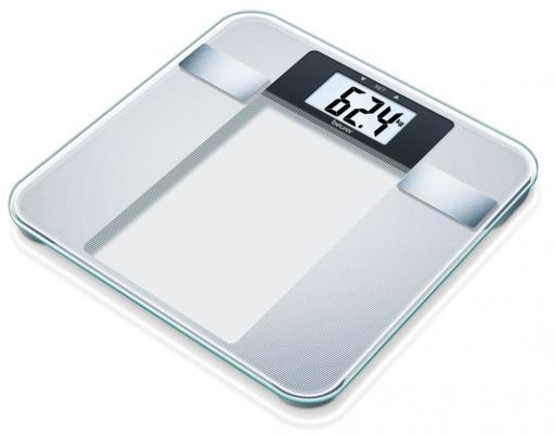 Весы напольные Beurer BG13 серебристый весы beurer ps07