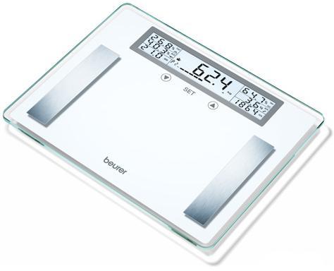 Весы напольные Beurer BG51 XXL белый sakazy белый xxl