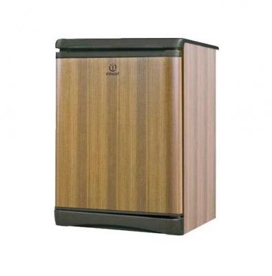Холодильник Indesit ТТ 85 Т темное дерево однокамерный холодильник indesit tt 85 t