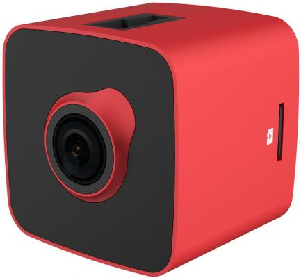 Автомобильный видеорегистратор Prestigio RoadRunner CUBE FHD@30fps,1.5,2 MP camera,140°,150 mAh,WiFi,G-sensor,red/black,Metal+Plastic. (A3PCDVRR530WR