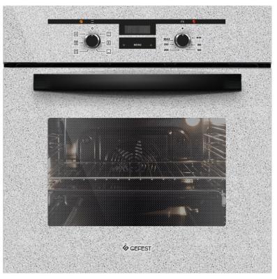 Электрический шкаф Gefest ЭДВ ДА 622-02 К46 серый/черный электрический шкаф gefest 622 02 к26 черный