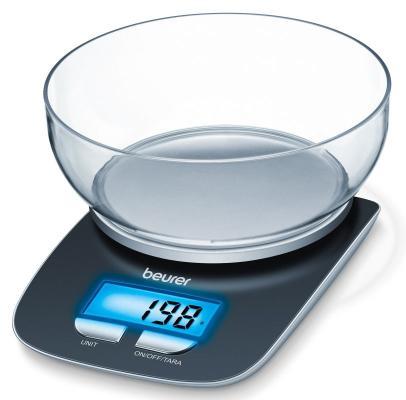 Весы кухонные Beurer KS25 чёрный весы кухонные beurer ks25