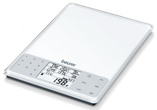 Весы кухонные Beurer DS61 белый весы кухонные beurer ks25