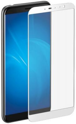 Закаленное стекло с цветной рамкой (fullscreen) для Meizu M6T DF mzColor-23 (white) аксессуар чехол для meizu m6t zibelino ultra thin case white zutc mzu m6t wht