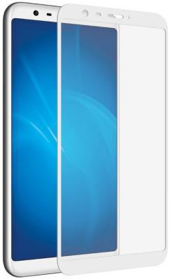 Закаленное стекло с цветной рамкой (fullscreen) для Meizu M8c DF mzColor-22 (white) закаленное стекло с цветной рамкой fullscreen для meizu 15 plus df mzcolor 21 black