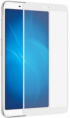 Закаленное стекло с цветной рамкой (fullscreen) для Meizu M6s DF mzColor-19 (white) закаленное стекло с цветной рамкой fullscreen для lg k10 df lgcolor 01 white