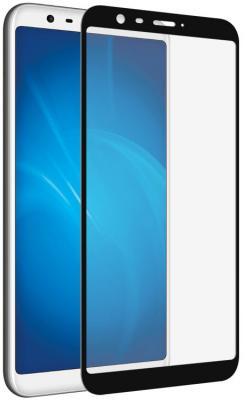 Закаленное стекло с цветной рамкой (fullscreen) для Meizu M8c DF mzColor-22 (black) цена и фото
