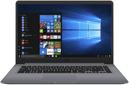 Ноутбук ASUS S510UN-BQ219T 15.6FHD/Intel Core i5-8250U/6GB/1TB/GF MX150 2Gb/noODD/WiFi/BT/Windows 10 Home/Grey-Metal