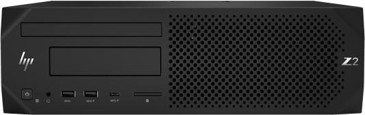 HP Z2 G4 SFF Intel Core i7 8700(3.6Ghz)/8192Mb/1000Gb/DVDrw/war 3y/W10Pro hp elitedesk 800 g4 sff intel core i5 8500 3ghz 8192mb 256ssdgb dvdrw war 3y w10pro displayport