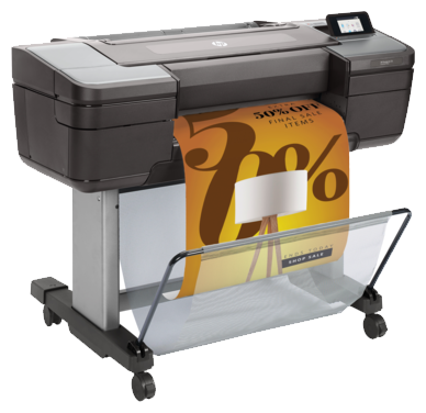 HP DesignJet Z6 24-in Postscript Printer цены