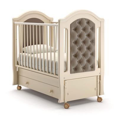 Кроватка с маятником Nuovita Grazia Swing (avorio) кроватка с маятником sweet baby eligio avorio слоновая кость