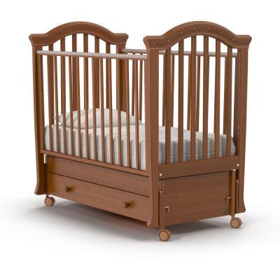 Кроватка с маятником Nuovita Perla Swing (noce scuro) кроватка nuovita fasto noce scuro