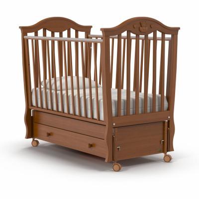 Кроватка с маятником Nuovita Sorriso Swing (noce scuro) кроватка nuovita fasto noce scuro