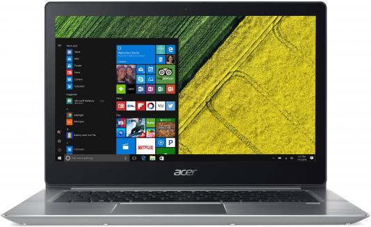 "Ноутбук Acer Swift SF315-52-51NX 15.6"", 1920x1080 Intel Core i5-8250U 256 Gb 8Gb Intel UHD Graphics 620 серебристый Windows 10 Home NX.GZ9ER.002"