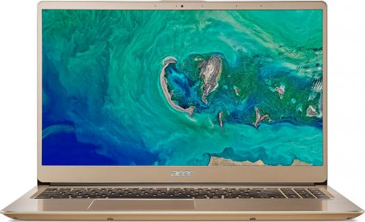 "Ноутбук Acer Swift SF315-52G-55PW 15.6"", 1920x1080 Intel Core i5-8250U 256 Gb 8Gb nVidia GeForce MX150 2048 Мб золотистый Linux NX.GZCER.001"