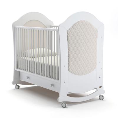 Кроватка-качалка Nuovita Tempi Dondolo (bianco) детская кровать nuovita grano dondolo bianco белый