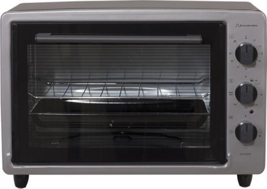 Электропечь Schaub Lorenz SLE OE3400 серый чёрный мини печь schaub lorenz sle os3512 чёрный