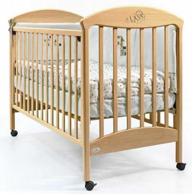 Купить Кроватка Fiorellino Pu (natur), натуральный, бук, Кроватки без укачивания