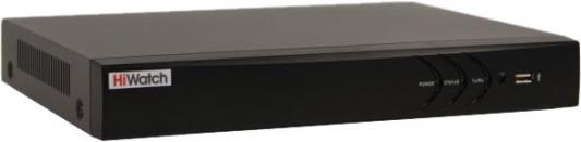 Видеорегистратор HiWatch DS-N308/2P(B) 8 IP@8Мп; 1xRCA; Видеовыход: 1 VGA и 1 HDMI до 4K; Аудиовыход; 1 канал RCA; Видеосжатие H.265/4+/H.265/4; Вхо cctv видеорегистратор greatech 4 ahd 960h d1 hdmi 1080p nvr onvif hikvision ip 4ch cctv dvr 1 wx 6004h h