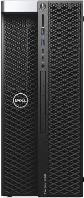 ПК Dell Precision T5820 MT Core i9 7900X (3.3)/16Gb/SSD512Gb/DVDRW/Windows 10 Professional Multi Language 64/GbitEth/425W/клавиатура/мышь/черный goojprt mtp 3 portable 80mm bluetooth thermal printer exquisite lightweight design eu plug support android pos multi language