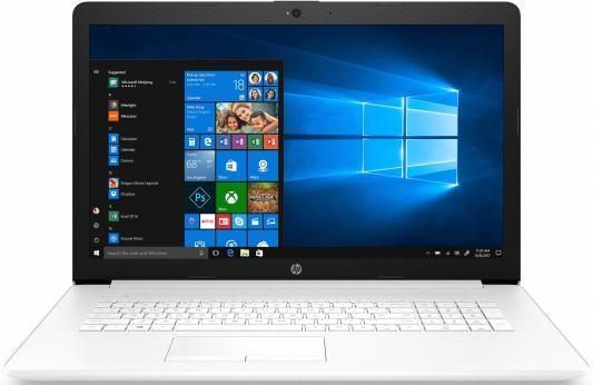 "Ноутбук HP 17-ca0048ur 17.3"" 1600x900 AMD Ryzen 3-2200U 500 Gb 4Gb AMD Radeon Vega 3 Graphics белый DOS 4MG16EA ноутбук hp 17 by0004ur 17 3"
