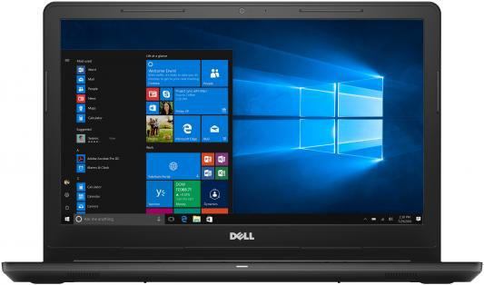 Ноутбук Dell Inspiron 3567 Core i3 7020U/4Gb/500Gb/DVD-RW/Intel HD Graphics 620/15.6/HD (1366x768)/Linux/black/WiFi/BT/Cam