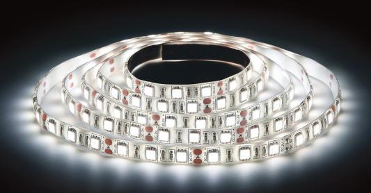 ЭРА Лента светодиодная 14,4Вт/м LS5050-60LED-IP65-W Холодный белый {Лента светодиодная (5м/10мм)} лента светодиодная skyway 96 диодов s03201017