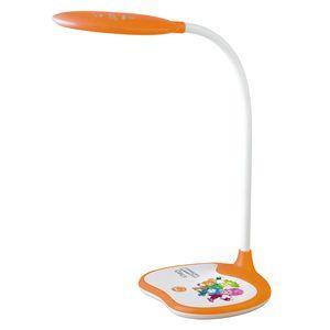 ЭРА Б0028463 Настольный светодиодный светильник NLED-433-6W-OR оранжевый, дизайн Фиксики {плавный диммер яркости, цвет. температура 3000/4500/6500К}