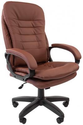 Офисное кресло Chairman 795 LT Россия PU коричневый [7014618] офисное кресло chairman 403 кожа pu черное
