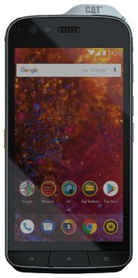 Смартфон Caterpillar S61 64 Гб черный смартфон lg g7 thinq 64 гб черный g710emv
