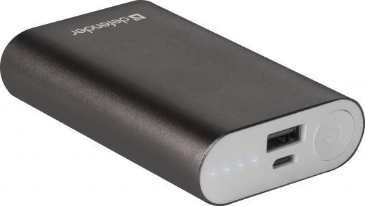 Фото - Defender Внешний аккумулятор Lavita 6000B 1 USB, 6000 mAh, 2.1 A (83616) внешний аккумулятор для портативных устройств defender lavita 10400 83636