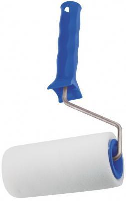 Валик СИБРТЕХ 80101 поролон с ручкой 100мм d - 48мм d ручки - 6 мм валик с шубками сибртех