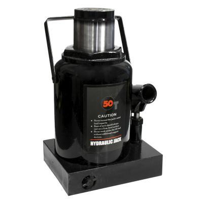 Домкрат бутылочный WIEDERKRAFT WDK-81500 50т гидравлический высота 255-402 черный клемма заземления wiederkraft wdk 65012