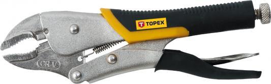 Клещи TOPEX 32D856 зажимные 225мм клещи topex 16b440