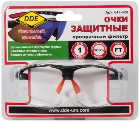 Очки DDE 647-628 защитные прозрачные очки защитные dde желтые