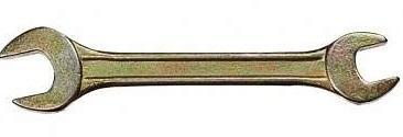 Ключ рожковый СИБРТЕХ 14311 (19 / 22 мм) желтый цинк защитная пленка membrane anti bacterial