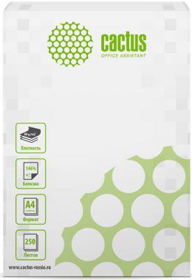 Бумага Cactus CS-OP-A480250 A4/80г/м2/250л./белый CIE146% бумага cactus cs opb a480250 a4 80г м2 250л белый cie153% общего назначения офисная
