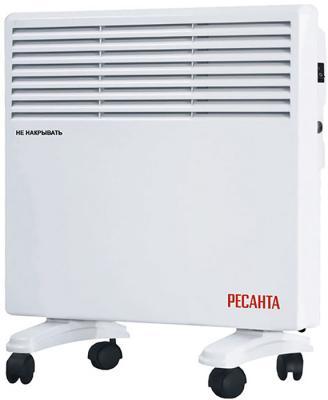 Конвектор Ресанта ОК-500Е 500 Вт дисплей таймер светодиодный индикатор колеса для перемещения ТЭН термостат белый конвектор ресанта ок 500е led