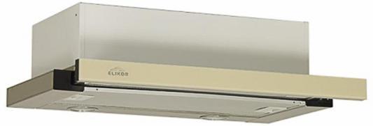 Вытяжка ELIKOR Интегра GLASS 50Н-400-В2Д (нерж/стекло бежевое) цена и фото