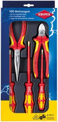 Набор инструментов KNIPEX KN-002013 электроизолированных набор инструментов knipex универсальный 6 предметов