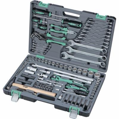 Набор инструментов STELS 14112 1/4 1/2 cr-v s2 усиленный кейс 119предм. набор инструментов stels 31 предмет 14102