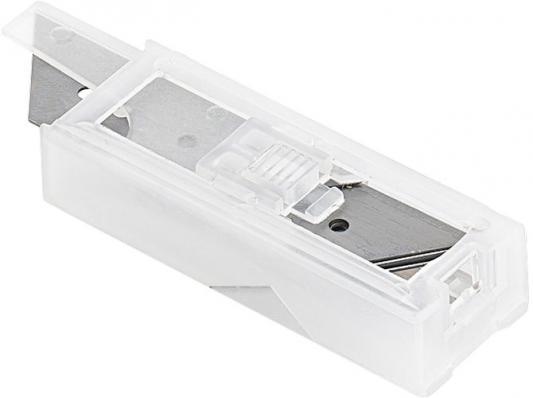 купить Лезвие для ножа MATRIX 793555 лезвия 18мм трапециевидные прямые 5 шт (78924 78900 78964 78967) по цене 50 рублей