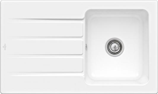 Мойка Villeroy & Boch Architectura 50 335001R1 керамика альпийский белый