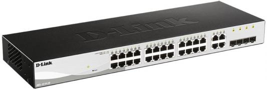 D-Link DGS-1210-28/F1A, L2 Smart Switch with 24 10/100/1000Base-T ports and 4 1000Base-X SFP ports.16K Mac address, 802.3x Flow Control, 4K of 802.1Q VLAN, 802.1p Priority Queues, ACL, IGMP Snooping, sketchbook other paper products brand 230 230g 4k 8k 16k