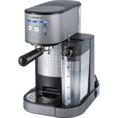 Кофеварка эспрессо Polaris PCM 1522E Adore Cappuccino 1350Вт антрацит