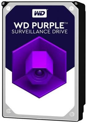Жесткий диск 3.5 10 Tb 7200rpm 256Mb cache Western Digital Purple WD101PURZ SATA III 6 Gb/s